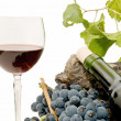 Still life of wine - Stock Photo