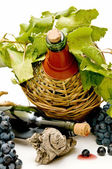 Still life of wine — Stock Photo