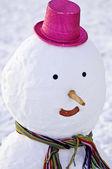 Snowman — Stock fotografie