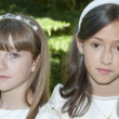 Communion Girls — Stock Photo #7007005