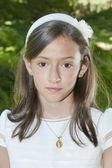 Communion Girl — Stock Photo