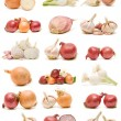 Onions and garlic — Stock Photo #7120554