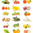 Fruits and vegetables — Stock Photo #7120639