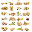 Stock Photo: Mixed nuts