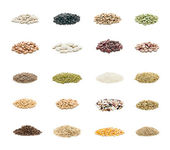 Organic seeds — Stock Photo