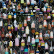 Fishing Buoys — Stock Photo