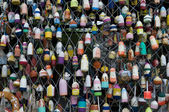 Fishing Buoys — Stock Photo