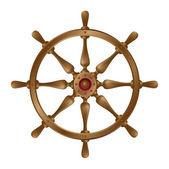 Ship's wheel — Stock Vector