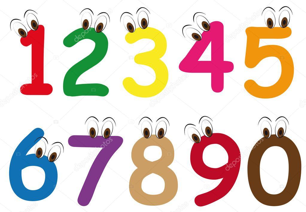 Number cartoon lol rofl com