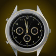 Elegant wristwatch — Stockvectorbeeld