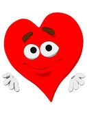 Emoticon Heart — Stock Photo