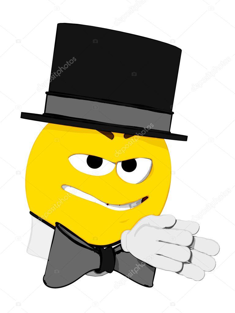 Sneaky Emoticon Stock Vector - Image: 66765543