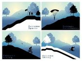 Extreme sports — Stock Vector