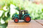 Little tractor — Stock Photo