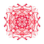 Beautiful fractal mandala — Stock Photo