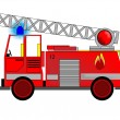 Fire engine — Stock Vector