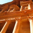 Stock Photo: Famous temple in Petra