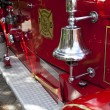 Bell on fire engine — Stock Photo