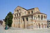 Basilica di Santi Maria e Donato, Murano Island, Venice — Stock Photo