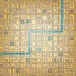 Grid city — Stock Vector