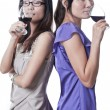 Night out with Wine — Stock Photo #6773370