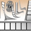 Stock Vector: Cinema elements