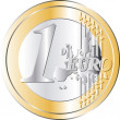Euro Coin - Stock Vector