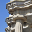 Stock Photo: Park guell columns