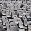 Plastic chairs — Stock Photo #7004525
