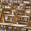 Stock Photo: Wooden chairs