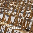 Wooden chairs — Stock Photo #7009535