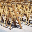 Wooden chairs — Stock Photo #7009540