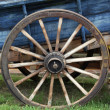 wooden wheel — Stock Photo