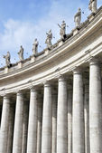 Bernini colonnade — Stock Photo