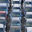 Stock Photo: Many cars parked