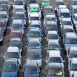 Stock Photo: Many Cars in parking