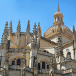 Cathedral. Segovia — Stock Photo