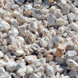 Gravel for construction — Stock Photo