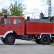 Stock Photo: Old fire truck