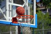 Basketball goal — Stock fotografie