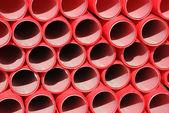 Tubos de plástico — Fotografia Stock