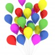 Bunch of balloons — Stock Photo #7279094