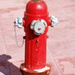 Red Hydrant — Stock Photo