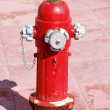 Stock Photo: Red Hydrant