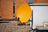 Parabolic antenna — Stock Photo