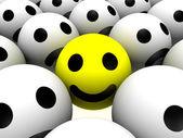 Glad smiley — Stockfoto