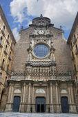 Basilica of Montserrat — Stock Photo