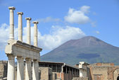 Vesuvius volcano — Stock Photo