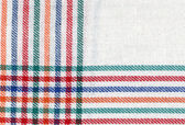 Close up of a cloth in white. Dishcloth. Drier. — Stock Photo