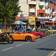 Stock Photo: Sportcars in Anapa